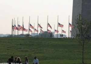 washington-monument-flags-half-mast-philadel-us